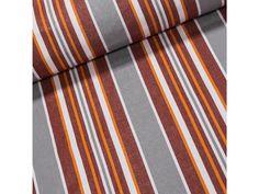 Lehátkovina PPW4D oranžovo-šedé pruhy, š.45cm (látka v metráži) | TextilCentrum.cz Tie Clip, Fashion, Moda, Fasion, Tie Pin, Trendy Fashion, La Mode
