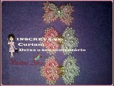 Aprendendo a fazer  Laço luxuoso de pérolas e pitanguinhas com Vitalina Alves . laço 03 - YouTube