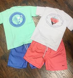 New Coastal Cotton tshirts and swim trunks! Super soft and comfortable #coastalcotton #southernstyle #springhassprung #shoplocal #southernexposuretn by southernexposuretn