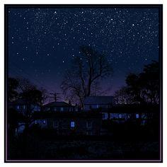 Dan McCarthy: blue windows behind the stars http://www.danmccarthy.org/PRINT.DETAIL/99180.blue.windows.html