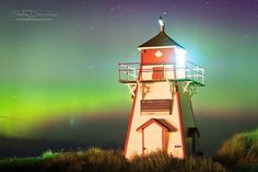 Prince Edward Island Northern Lights by Stephen DesRoches on 500px