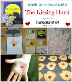 Back to School with The Kissing Hand Book & Crafts