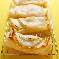 Découvrez la recette Tarte aux poires sur cuisineactuelle.fr.