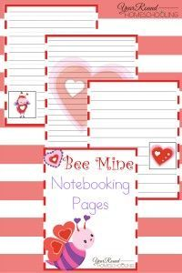 Bee Mine Valentine's Day Printables - Year Round Homeschooling #ValentinesDay #Homeschooling Valentines Day Activities, Valentine Day Crafts, Valentine Stuff, Alternative Education, Valentine's Day Printables, Homeschool Curriculum, Homeschooling Resources, Learning Activities, Activities For Kids