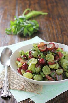 Grape Salsa | cookiemonstercooking.com