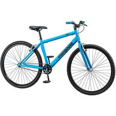New 29 Mongoose Padded seat and Standard pedals Hex Mens Fitness Matte Blue Bike ** Details can be found by clicking on the image. Boys Mountain Bike, Single Speed Mountain Bike, Mountain Biking, Urban Fitness, Mens Fitness, Fitness Bike, Mongoose Mountain Bike, Mongoose Bike, Bike Deals