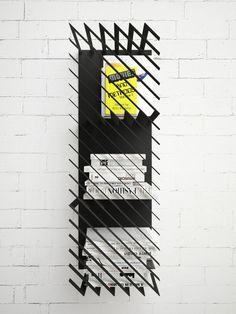 Hash | modular bookshelf by Max Voytenko of Line Studio