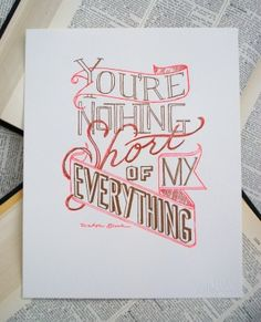 Letterpress Artwork and Cards   Oh So Beautiful Paper
