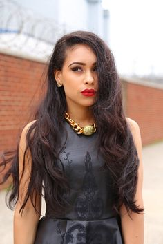nytrendymoms featuring Love, Nidia E. choker