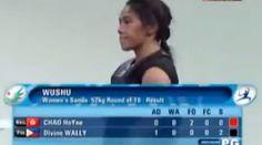 VIDEO AG 2014 : Divine Wally at Women's Sanda -52kg Wush Round of 16 | Pinoy Headline dot Com