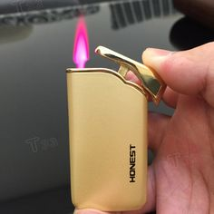 Fuel Butane. Before refilling a butane torch lighter, it is necessary to drain any remaining fuel from the lighter. Using the small screwdriver press the fuel-refilling nozzle to remove the leftover fuel. | eBay!