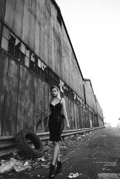 Photographer: Ted Emmons Stylist: Rafael Linares Stylist Assistant: Frida Lofgren Mua: Brittany Meredith Hair: Sal Salcedo Model: Veronika V.