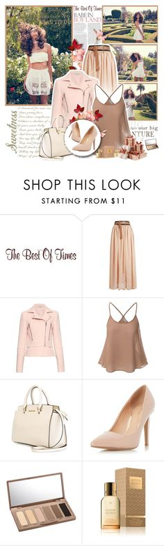 """""""The Best of Times"""" by winala ❤ liked on Polyvore featuring Balenciaga, Doublju, MICHAEL Michael Kors, Dorothy Perkins, Urban Decay, Molton Brown and Jean Patou"""
