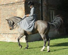 Everyday Elegance - Victorian Side Saddle Habit - Side saddle - Alexander James - English Country Clothing