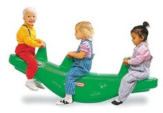 Little Tikes Classic Alligator Teeter Totter, Little Tikes Classic Alligator Teeter TotterRemember how you used to have so much fun on the teeter totter at your childhood playground? Now your little one can experience the same excitement with . Twin Baby Gifts, Best Baby Gifts, Handmade Baby Gifts, Personalized Baby Gifts, Free Baby Stuff, Cool Baby Stuff, Kid Stuff, Little Tikes, Outdoor Toys