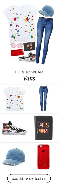 """Untitled #2086"" by pageinabook on Polyvore featuring WithChic, Vans, Lizzie Fortunato and Mudd"