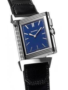 La Cote des Montres : La montre Jaeger-LeCoultre Grande Reverso Ultra Thin Duoface Blue - Jaeger-LeCoultre intensifie encore ses liens avec le polo