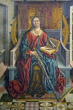 St Catherine of Alexandria by Lawrence OP