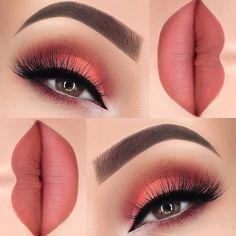 Makeup Eye Looks, Eye Makeup Tips, Smokey Eye Makeup, Eyeshadow Makeup, Lip Makeup, Smoky Eye, Makeup Geek, Makeup Eyebrows, Makeup Brushes