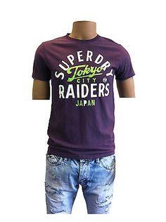 Superdry T-Shirt  Raiders Tee Soot  010 S M L XL
