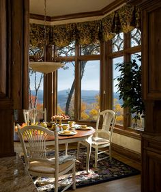 French Country Gothic Mountain - Traditional - Dining Room - Charlotte - Mark Sinsky Architect, PA