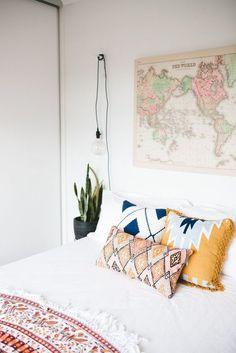 Airy Bedroom Envy via Abbey Carpet of SF