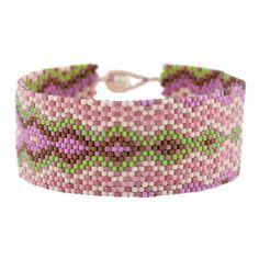 Beaded Bracelet PATTERN | Fusion Beads Free Spirit flat odd count peyote