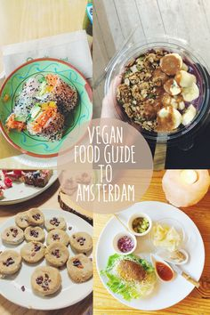 A vegan food guide to Amsterdam, including the 7 plant-based restaurants we visited on our trip. Amsterdam is very vegan-friendly! Raw Vegan Desserts, Vegan Food, Eating Vegan, Amsterdam Vegan, Amsterdam Food, Amsterdam Travel, Amsterdam Netherlands, Restaurant Amsterdam, Veggie Hotels