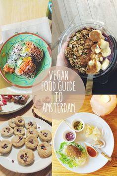 vegan food guide to Amsterdam #vegan #travel #Amsterdam