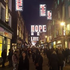 Great picture of Carnaby Street #London by Rob Carrick. #Photo #competition entry! Join the fun by posting and tagging #ShowMeXmas!