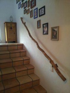 Unser neuer Handlauf im Treppenhaus!
