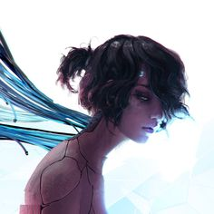 A genre of science fiction and a lawless subculture in an oppressive society dominated by computer technology and big corporations. Cyberpunk 2077, Cyberpunk Girl, Arte Cyberpunk, Cyberpunk Character, Cyberpunk Games, Cyberpunk Fashion, Chica Cyborg, Cyborg Anime, Henn Kim