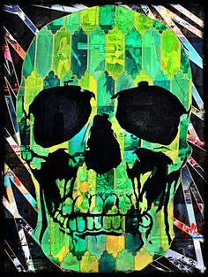 #Skulls #Green #Yellow