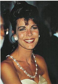 Caroline of Mónaco, late 1980's.