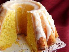 mniam...mniam...: babka cytrynowa Vanilla Cake, Cheesecake, Pudding, Easter, Sweets, Baking, Food, Recipes, Gummi Candy