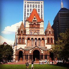 A must-see if you're visiting Boston. Beautiful architecture!
