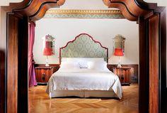 Schlafzimmer+einer+Executive+Suite+im+Palazzo+Danieli+Excelsior