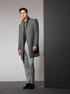 Whitman Herringbone Coat Ghyll Printed Jersey Polo Micker Trouser