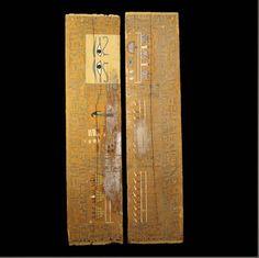 Aboutaams present: Egyptian Wood Sarcophagus.