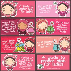 A guide to proper hijab