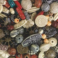 For SDC?? Old World Moroccan-Style Beads