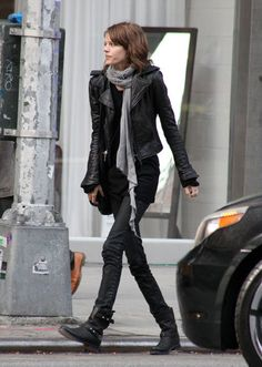 Saw this pinned as 'stylish', it made me very thoughtful. Freja Beha.......just so, so very thin.