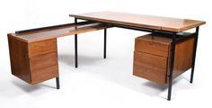 Modern Knoll L-Form Desk : Lot 350