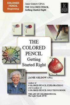 Look this up on youtube...lots of good ideas.The Colored Pencil: Getting Started Right with Janie Gildow