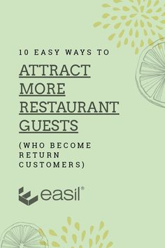 restaurant marketing 10 Easy Ways to Attract More Restaurant Guests (who become return customers) Event Marketing, Business Marketing, Social Media Marketing, Marketing Ideas, Content Marketing, Digital Marketing, Restaurant Trends, Restaurant Manager, Restaurant Restaurant