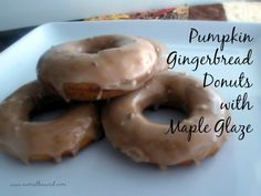 """Num's the Word:  These baked donuts are a healthy alternative to the fried ones and are packed with flavor.  Nothing tastes """"healthy"""" about them.  They are 100% goodness!"""