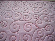 Sewing Quilts Sew-n-Sew Quilting: Starting with a Swirl Quilting Stencils, Quilting Templates, Longarm Quilting, Free Motion Quilting, Quilting Tutorials, Quilting Projects, Quilting Ideas, Hand Quilting, Quilting Blogs