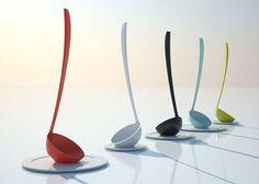Stand-up ladle by Mikiya Kobayashi
