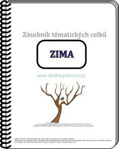 E- Zásobník ZIMA 01 + BONUS Company Logo, How To Plan, Education, Learning, Jar, Carnavals, Studying, Teaching, Onderwijs