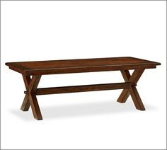 Tuscan Fixed Rectangle Table- would this look weird if you didn't use benches?
